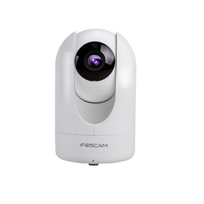 Indoor Pan Tilt Wired and WIFI Network Camera,2MP, 1080P, microSD, White