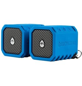 ECOXGEAR EXPB2X02 Waterproof Shock Resis. Bluetooth Speaker- Stereo Pair (Blue)