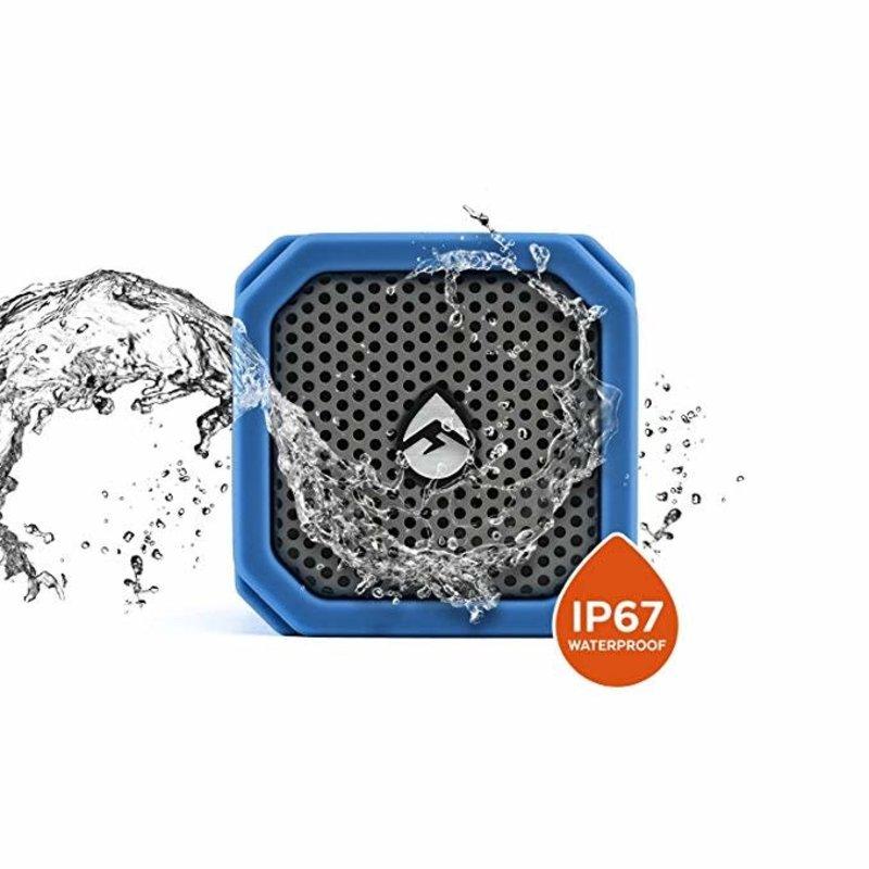 Ecoxgear Waterproof Shock Resis. Bluetooth Speaker. Steeio Pair (Blue)