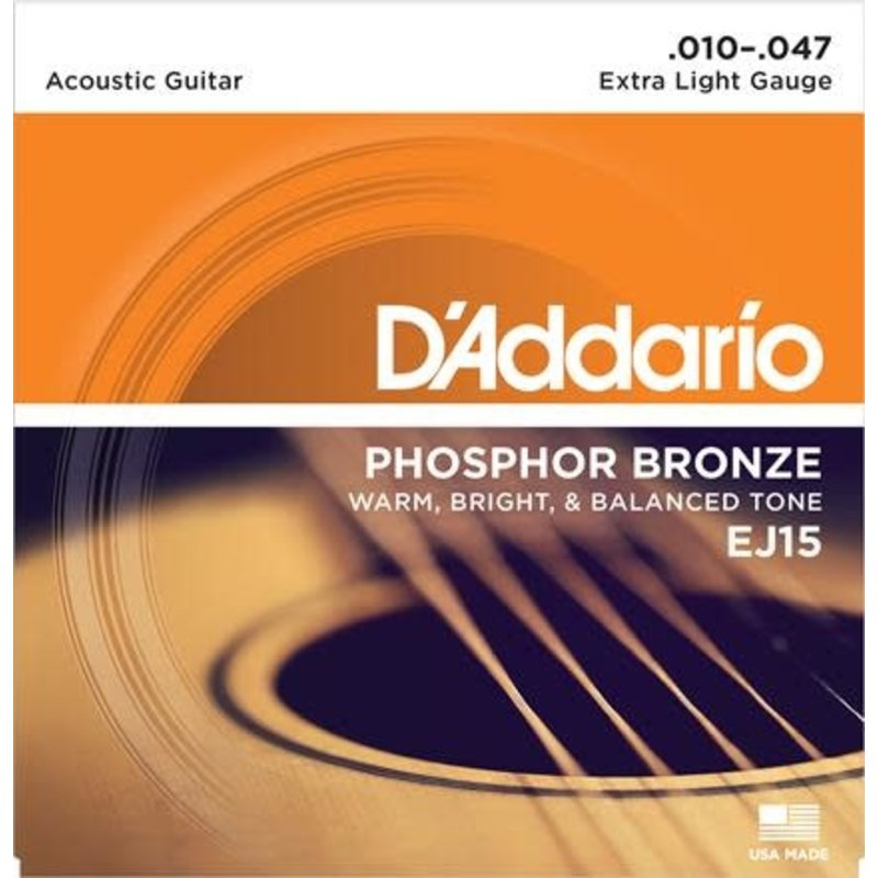 Phosphor Bronze Acoustic Guitar Strings