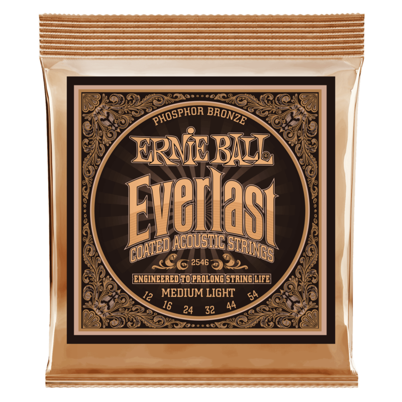 Everlast Coated Phzbrz Acoustic Strings