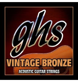GHS Vintage Bronze Acoustic Guitar Strings