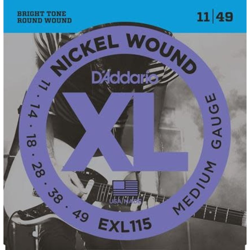 XL Nickel Wound Electric Guitar Strings