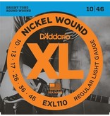 D'Addario XL Nickel Wound Electric Guitar Strings