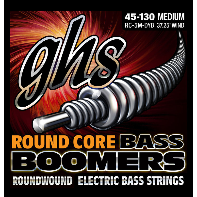 5-String Bass Boomers Med 45 - 130