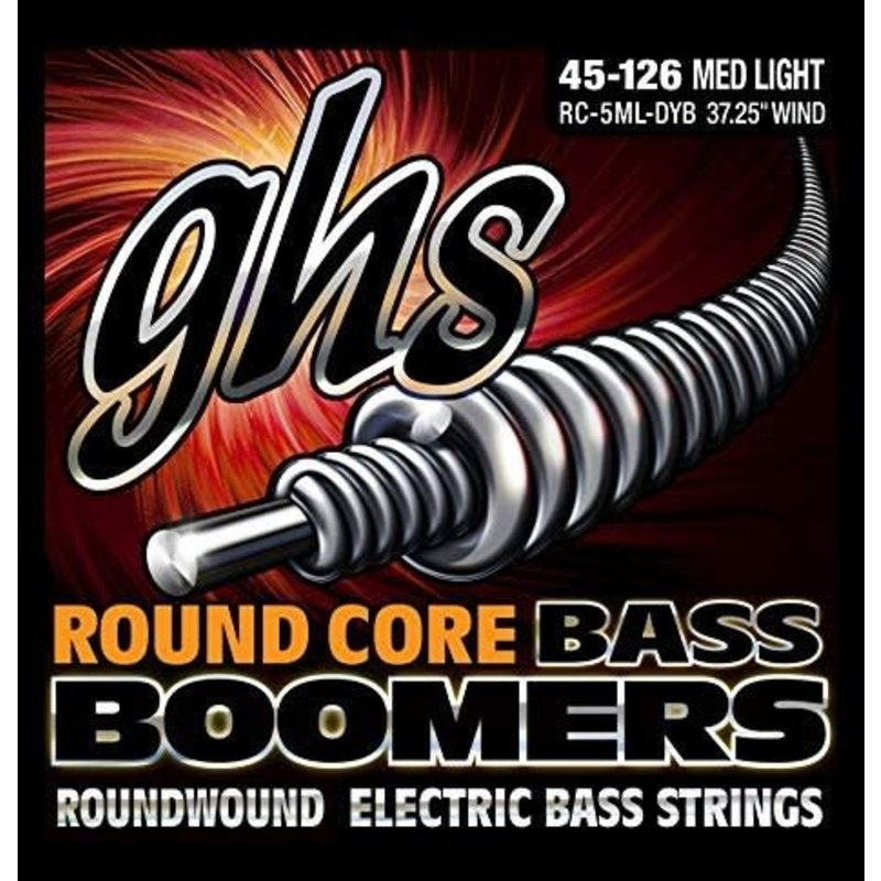 5-String Bass Boomers Roundwound 45-126