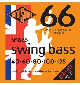 RotoSound SM665 5 String Bass (40/60/80/100/125)