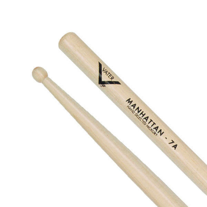 American Hickory Drumsticks - Manhattan 7A - Wood Tip