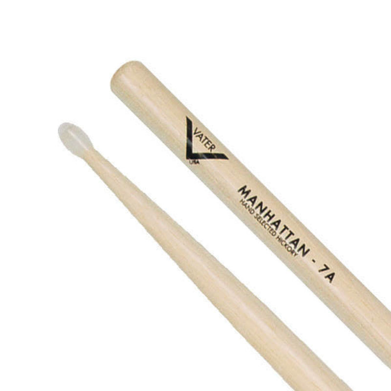American Hickory Drumsticks - 7A - Nylon Tip
