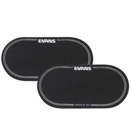 Evans EQPB2 - Eq Patch- Black Double