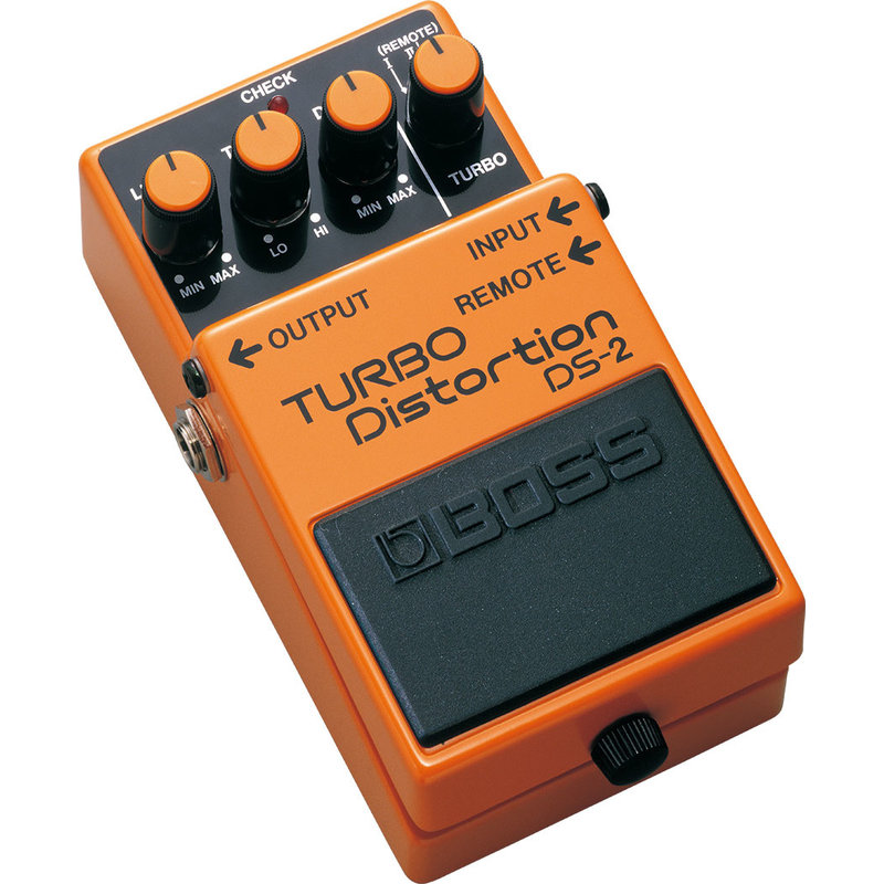 Turbo Distortion Pedal