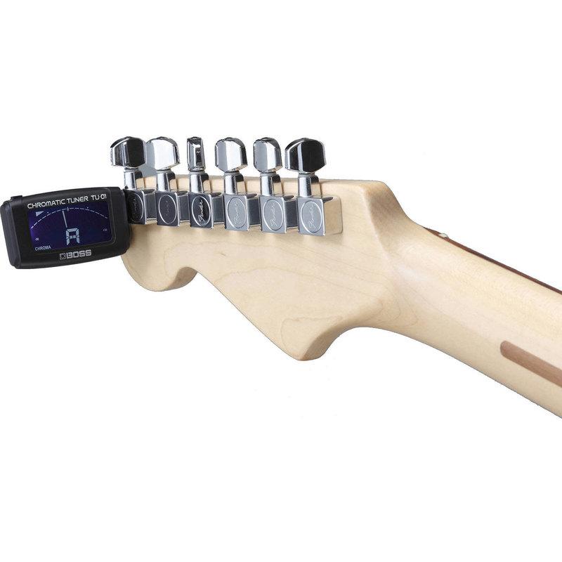 Clip-On Chromatic Guitar Tuner