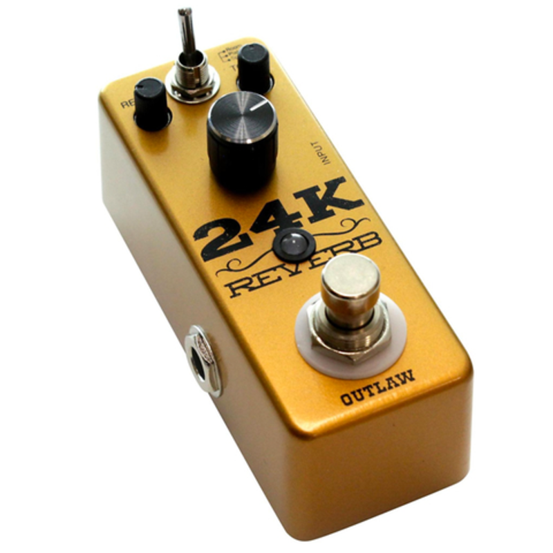 3-mode reverb pedal