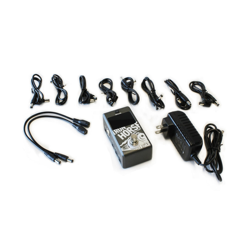 Tuner Pedal + Pedal power supply