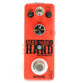 Outlaw Effects DEAD MANS HAND 2-mode overdrive pedal