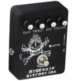 JOYO High Gain Distortion, Guitar FX Pedal with Mid EQ