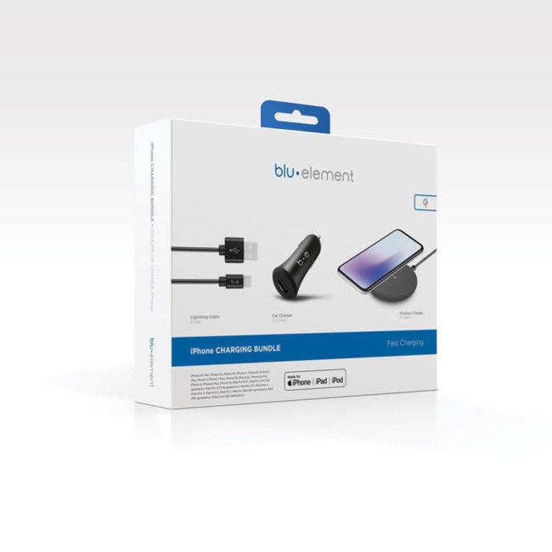 Power Charging Bundle Black for iPhone/iPad/iPod