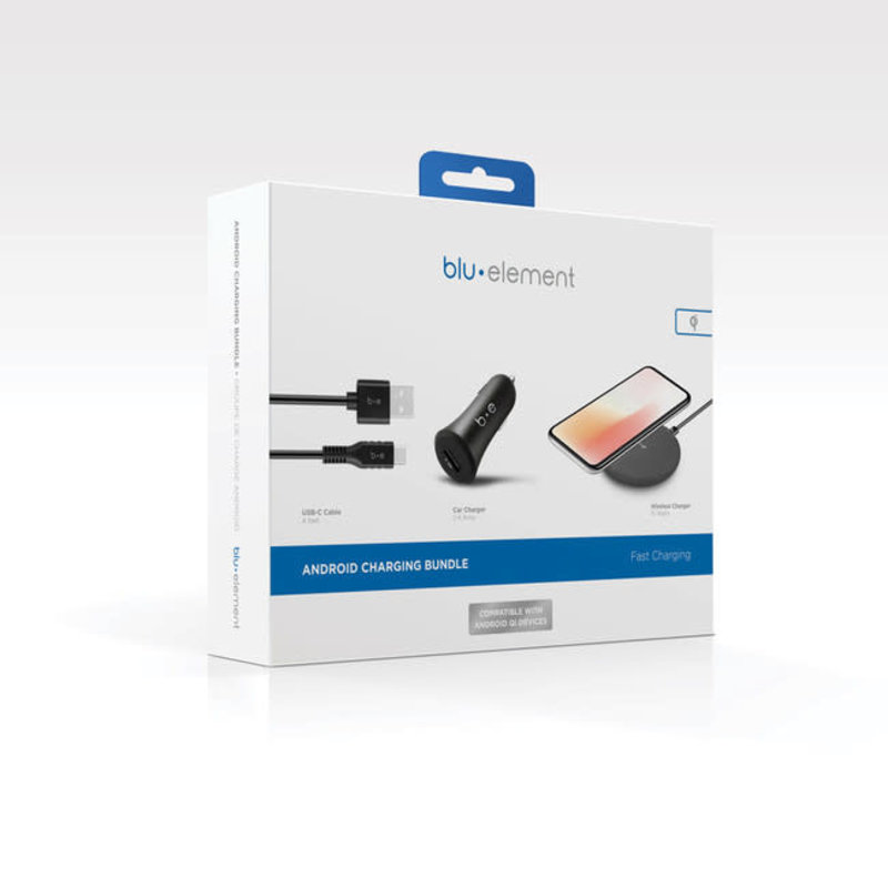 Power Charging Bundle Black for Android Devices