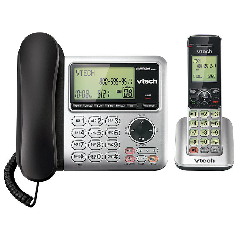 Corded/Cordless Phone w/Ans (expandable)