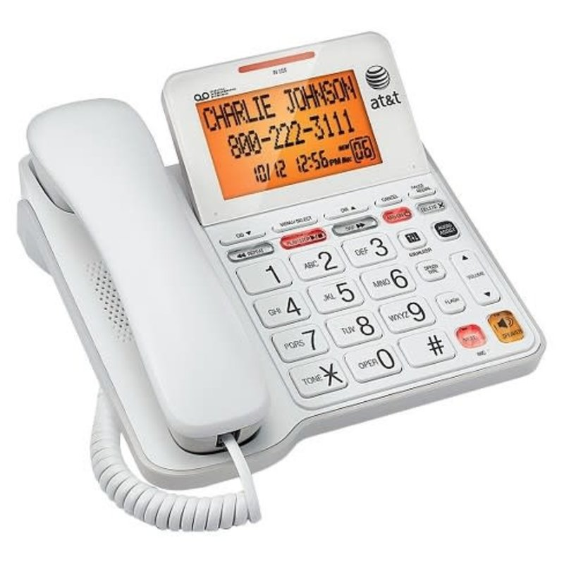 Big Button Large Display Loud Corded Phone
