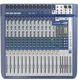 SoundCraft 16CH mixer, 12 XLR, 4 Buss, 3/4 Aux, w/FX