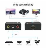 Composite to HDMI Converter 1080p