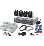 Swann DVR Camera Kit, 4 1080p Cameras & 1TB DVR
