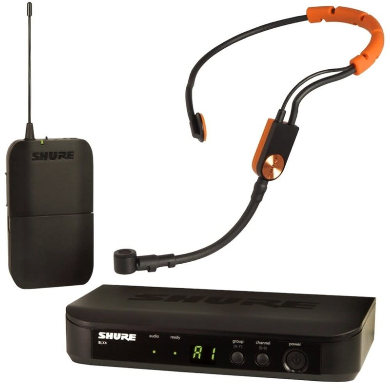 Wireless System With Fitness Condenser Headset Mic