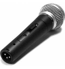 Shure SM58S - Cardoid Dynamic Vocal Microphone, W/ Switch