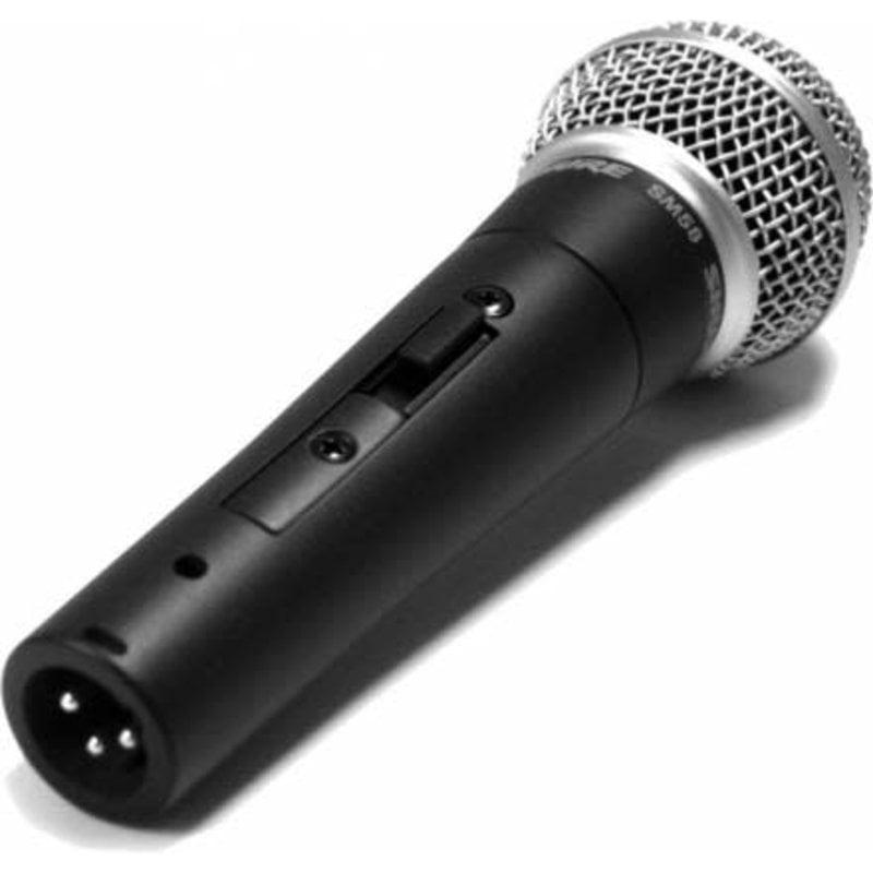 Cardoid Dynamic Vocal Microphone, W/ Switch