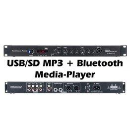 American DJ Media-Operator-BT - AmericanDJ 1U Media Mixer