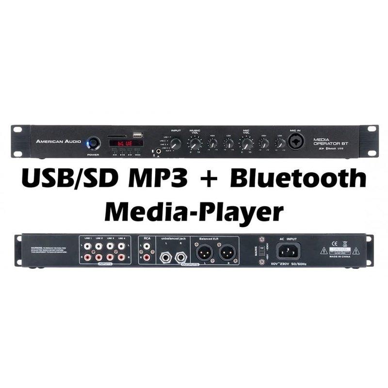Media-Operator-BT - AmericanDJ 1U Media Mixer