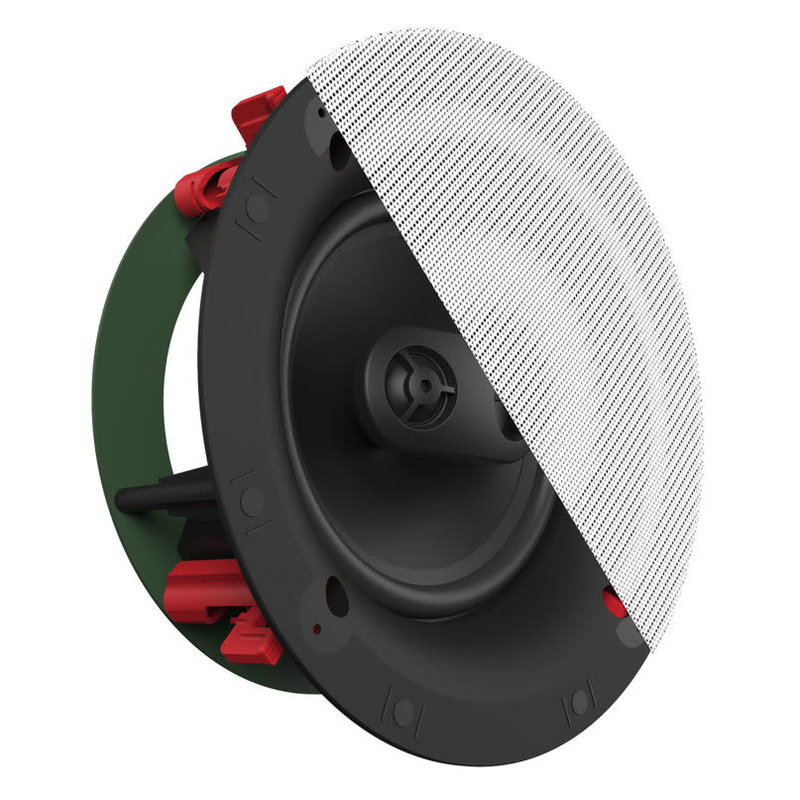Designer 8-in 2-Way Single Point Stereo in-ceiling Speaker (ea)