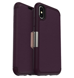 Otterbox 77-59626 - iPhone XS/X Royal Blush Leather Strada Folio case