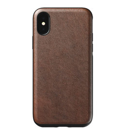 Nomad Rugged LLeather Case iPhone XS/X Rustic Brown
