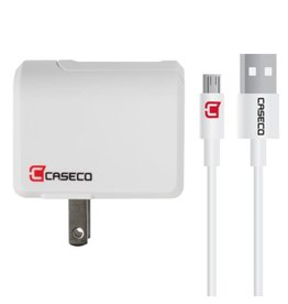 Caseco Pulse - 2.4a Wall Charger w/ 1.5m Micro USB Cable