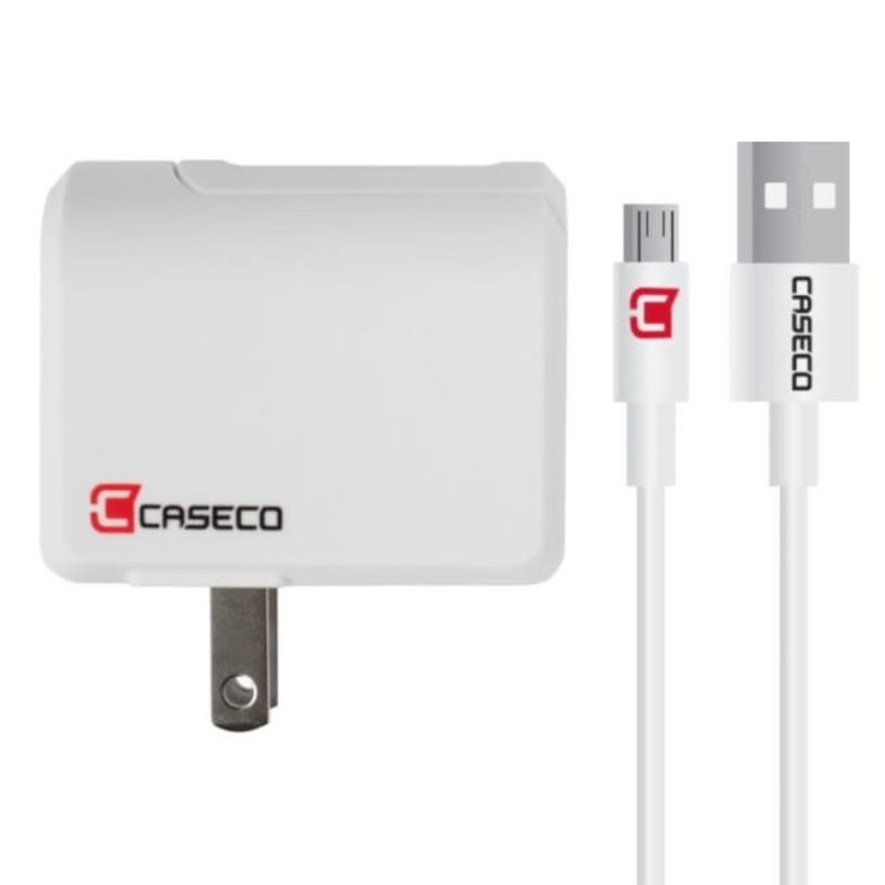 Pulse - 2.4a Wall Charger w/ Micro USB Cable
