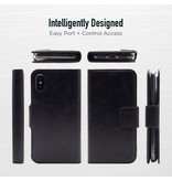 Caseco Black Folio Case for iPhone X/Xs