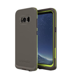 LifeProof 77-54834 Galaxy S8+ Fre Case - Second Wind (Dark Gray/Lime)