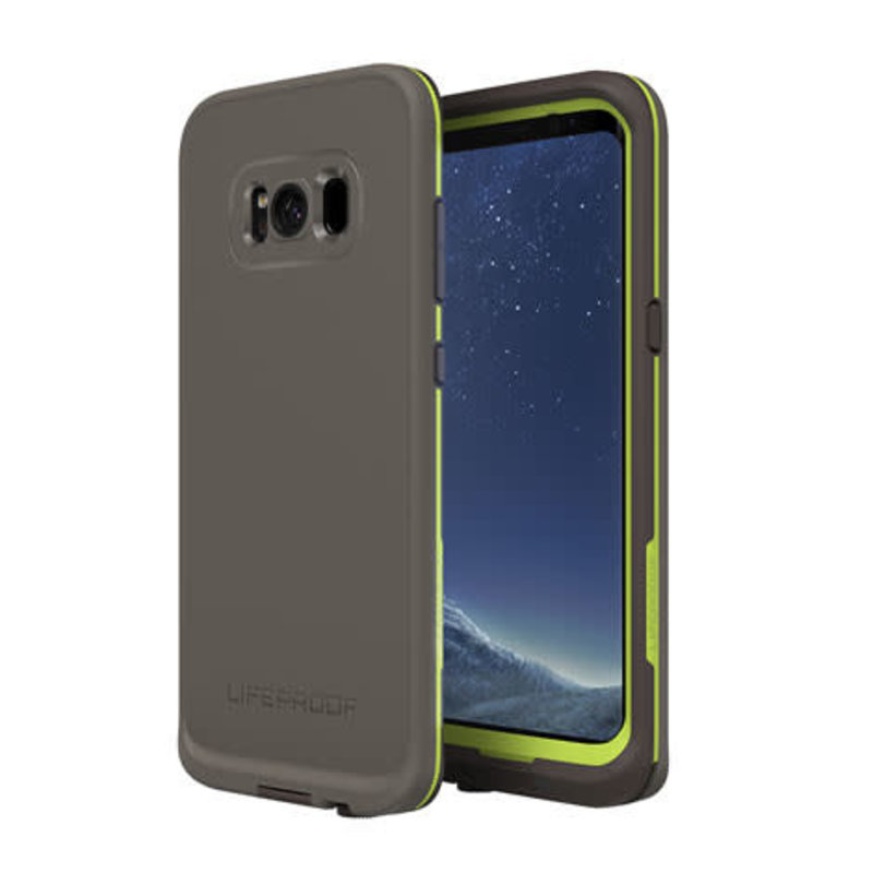 Galaxy S8+ Fre Case - Second Wind (Dark Gray/Lime)