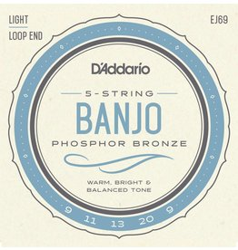 D'Addario Banjo Strings - Light 9-20