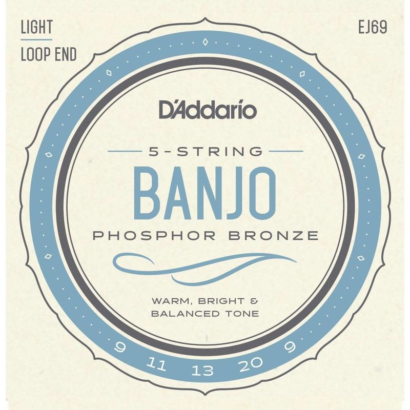 Banjo Strings - Light 9-20