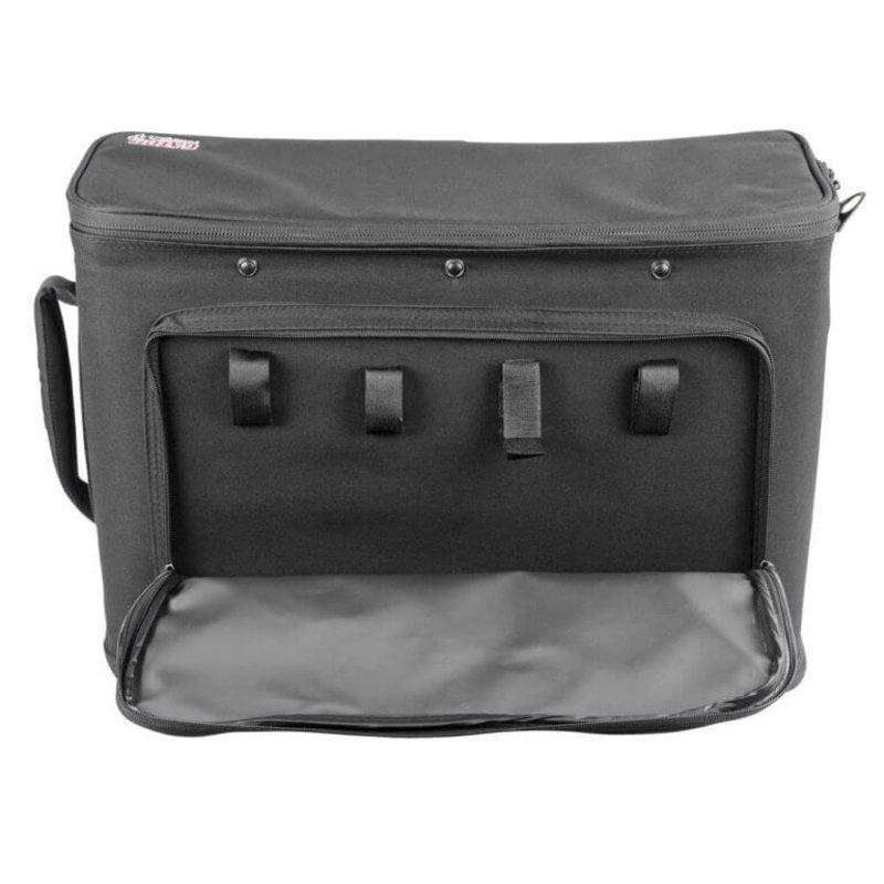3U Rack Bag W/Aluminum Frame