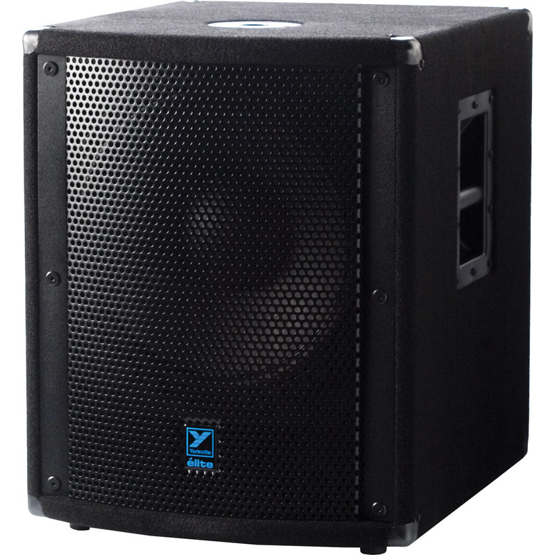 Elite 15'' 720w/1500w Powered Sub - Carpeted