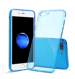 iPhone SE (2nd Gen) & 7/8 Soft Gel Case clear blue
