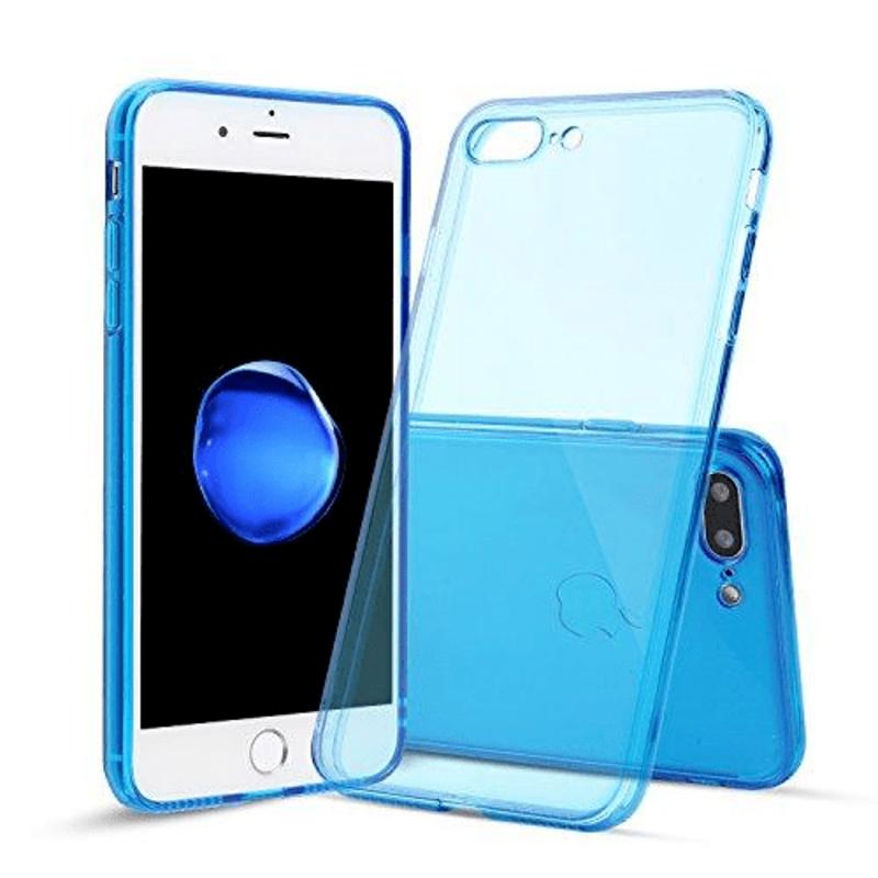 iPhone SE (2nd Gen) & 7/8 Soft Gel Caseclear blue