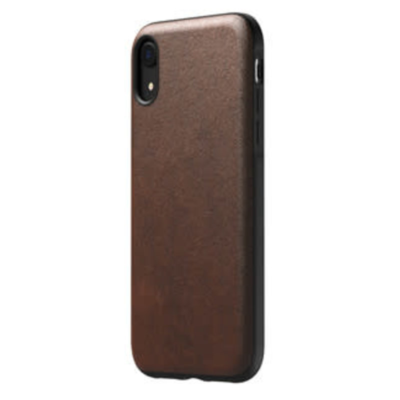 Rugged Leather Case iPhone XR