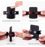 Mighty Mount Simpl Cradle - Air Vent Mount