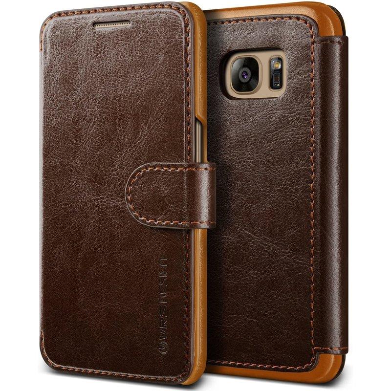 Layered Dandy Galaxy S7 Brown
