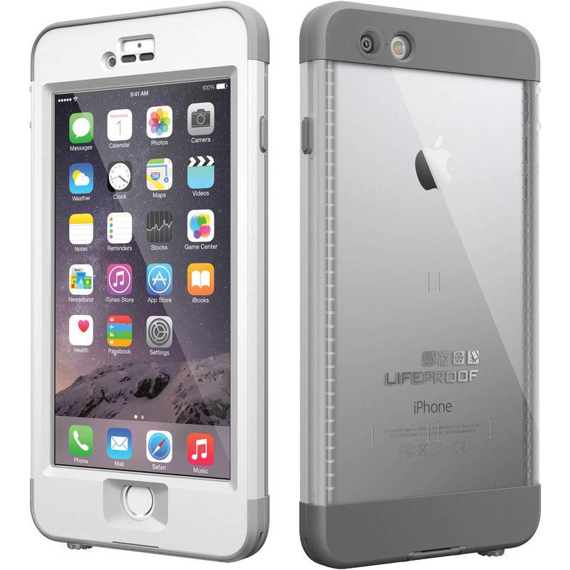 iPhone 6 Plus Nuud Case - White